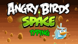 angry birds space typing
